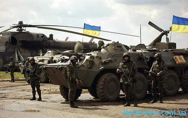 какая будет зарплата военнослужащих Украины в 2017 году