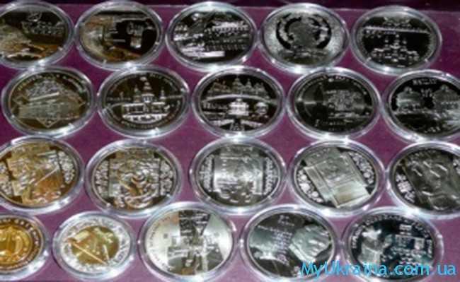 монеты Украины в 2017 году