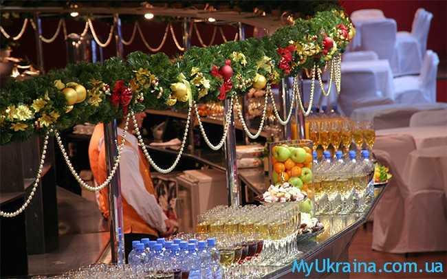 как отпраздовать Новый год 2017 в Киеве