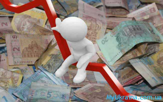 куча денег и диаграмма
