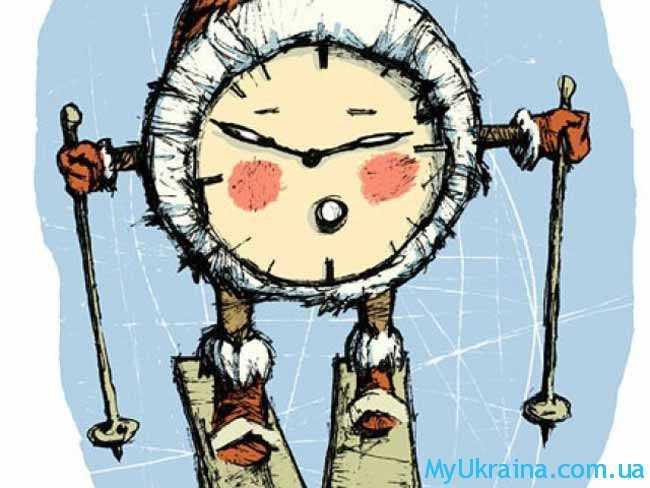 зимний перевод часов