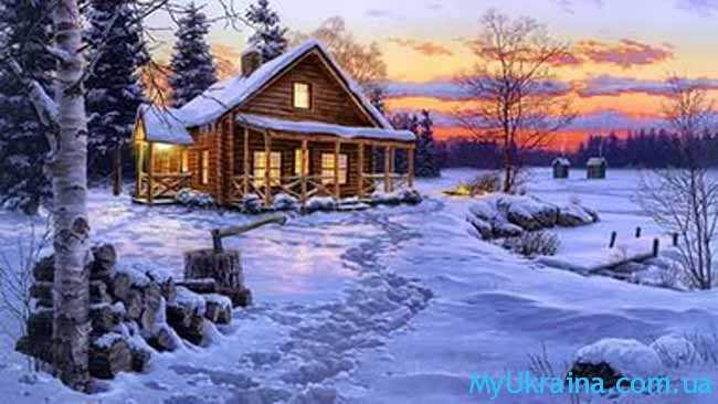 февральский сказочный домик