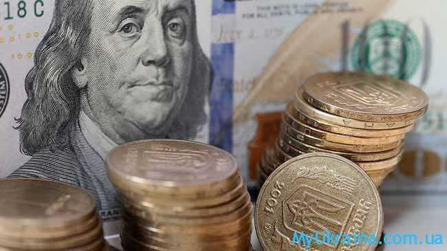 доллары,гривни