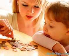 очаровательная девочка и мама