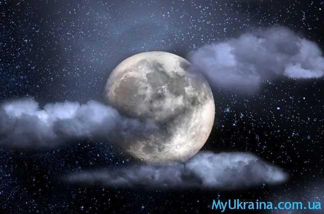 красивейшая луна
