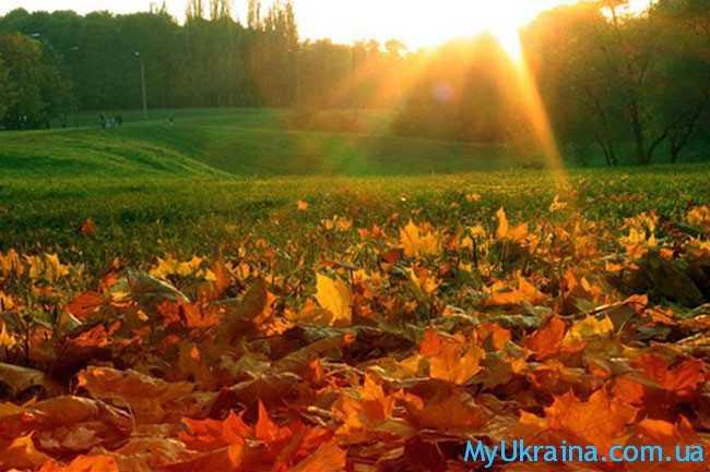 Сентябрь - это прекрасное время года