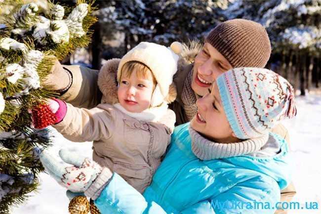 впереди ждут зимние каникулы и Рождество