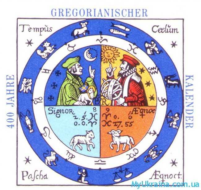 Согласно григорианскому календарю