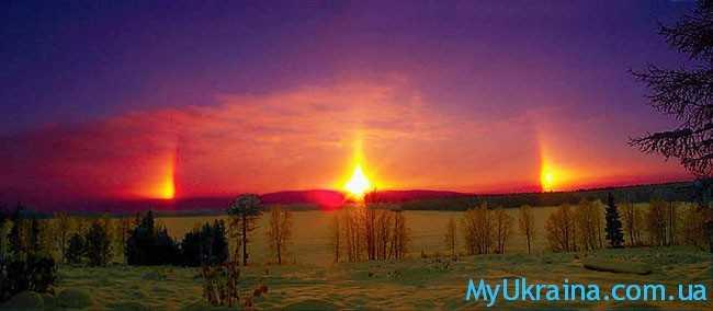 Солнечное затмение Гало