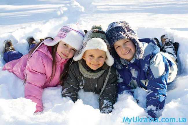 детки в снежке