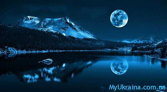 красивенная луна