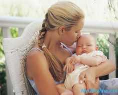 мама с ребеночком