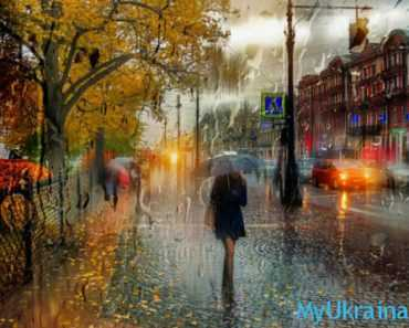 дождь в октябре