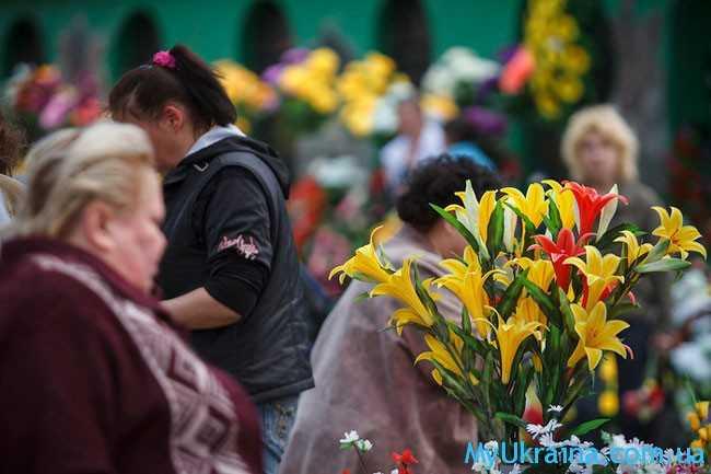 цветы на родительский день