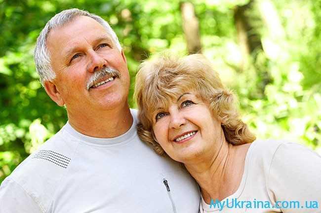 пенсионеры улыбаются