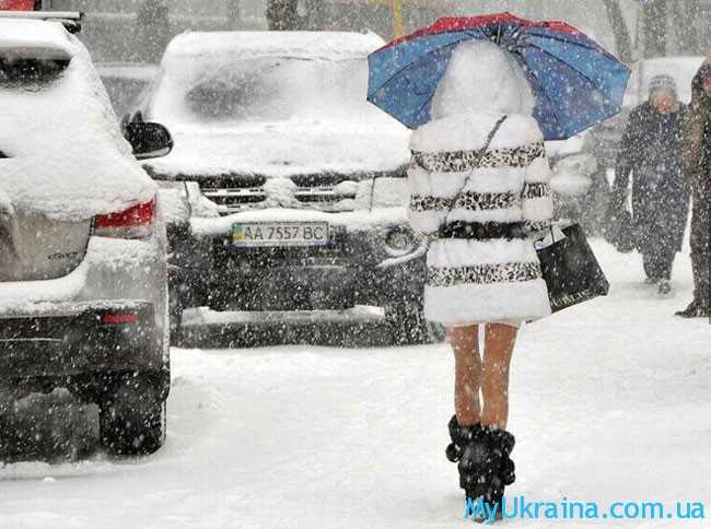 какой будет зима 2017 – 2018 года в Украине