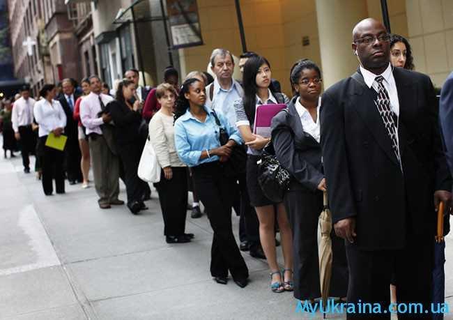 Пособие по безработице в Европе и США