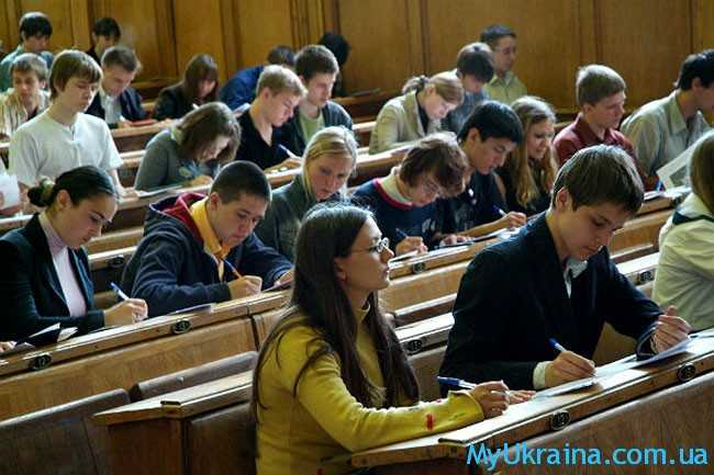 Учебный год в высших учебных заведениях