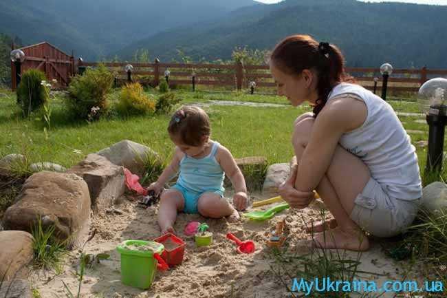 отдых летом в Карпатах с детьми