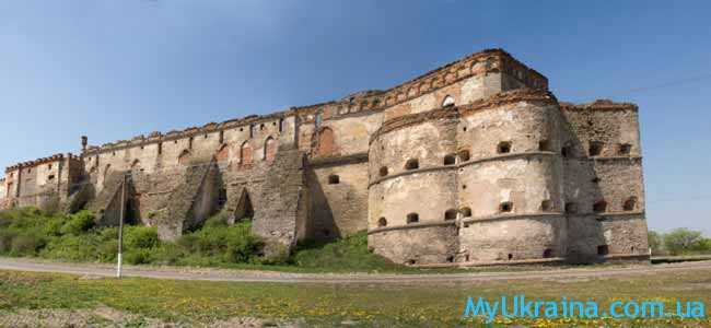 Меджибожская крепость