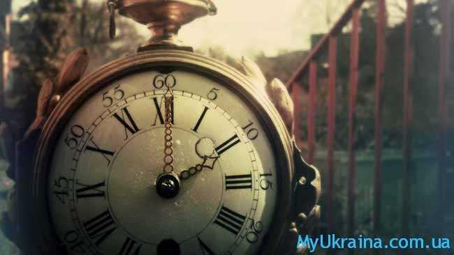 время идет...