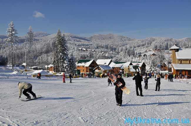 Рождественский тур в Прикарпатье