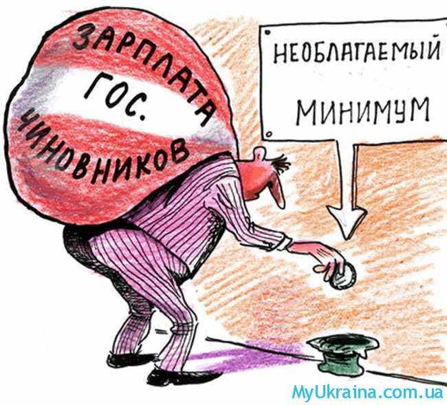 необлагаемый минимум в Украине 2018