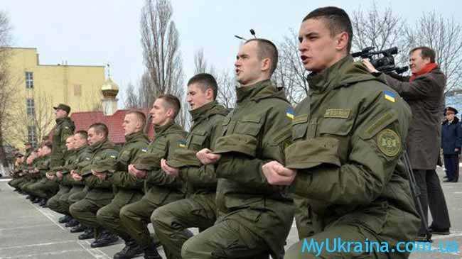 Особенности развития армии в Украине