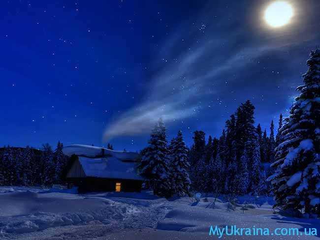 Декабрь под луной