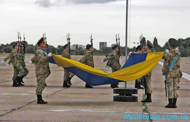 Отмечаем день независимости в Украине