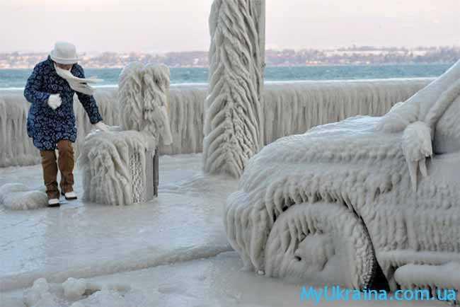 какой мороз!