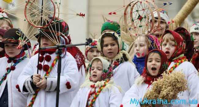Январь - это долгожданная пора для большинства украинцев