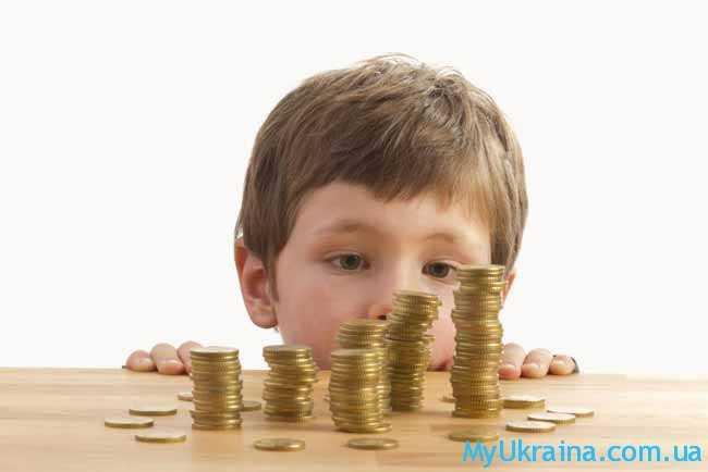 минимальные алименты в Украине