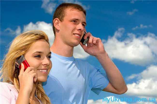 молодежь и телефоны