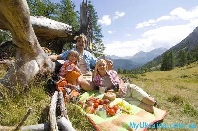 отдых с детьми в Карпатах