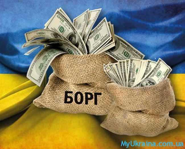 Как формируется валовой внешний долг Украины?