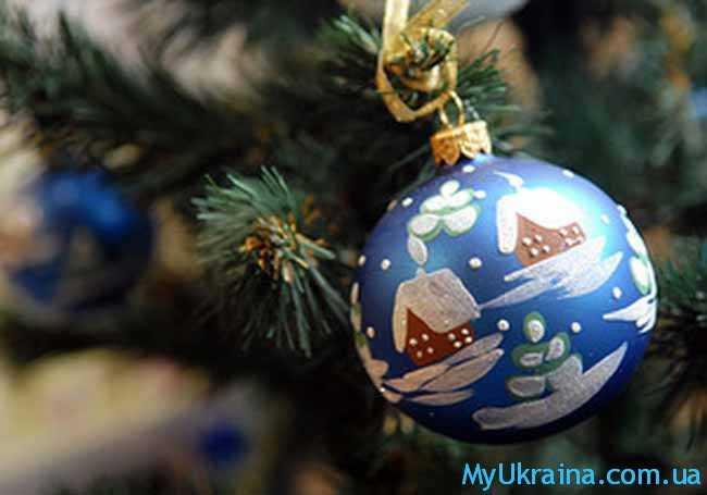 новогодние праздники в Украине