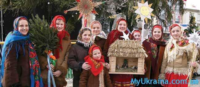 В Украине Новый год