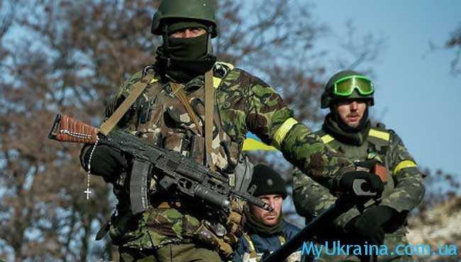 Боевые действия на Донбассе