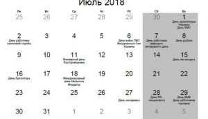 Какие праздники в июле 2018 года в Украине?