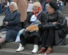Как обстоят дела с нетрудоустроенными пенсионерами