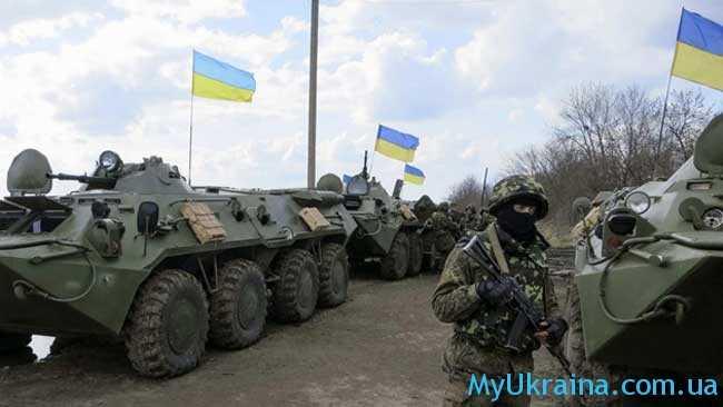 с началом боевых действий на востоке Украины
