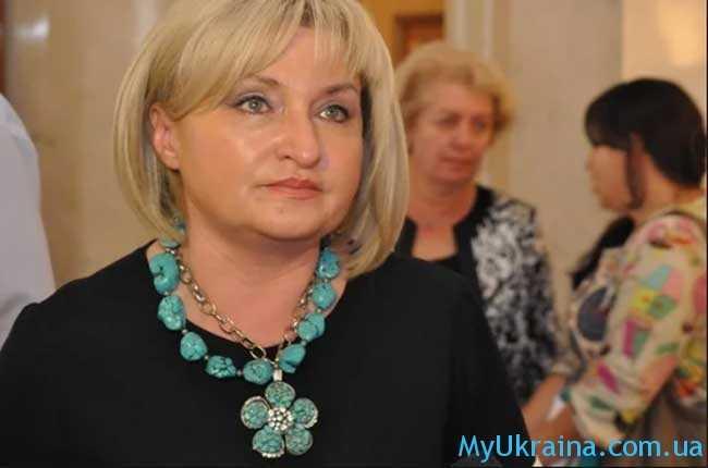 Согласно с заявлением представителя президента Ирины Луценко