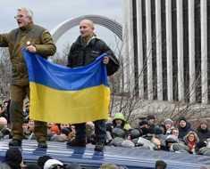 военная и политическая ситуация в Украине