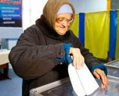 Граждане Украины полагают большие надежды на предстоящее изменение