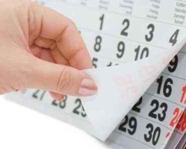 Рабочий календарь на 2020 год в Украине